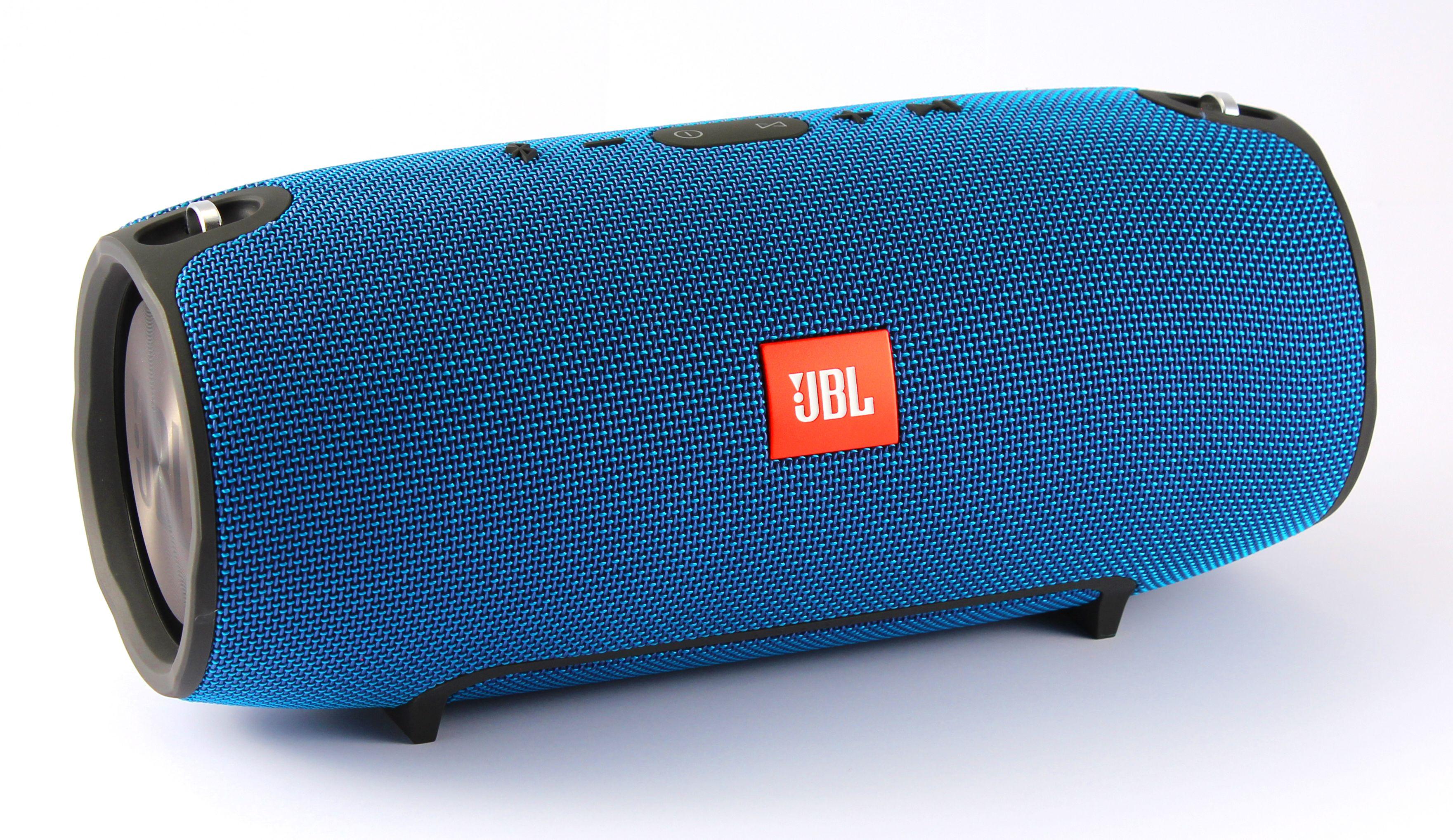 jbl xtreme blau bluetooth lautsprecher 20 w mah. Black Bedroom Furniture Sets. Home Design Ideas
